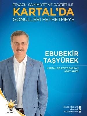 Ebubekir Taşyürek - Kartal Belediye Başkan Aday Adayı