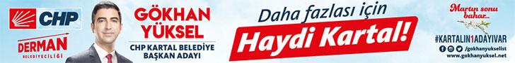 Gökhan Yüksel - CHP Kartal Belediye Başkan Adayı