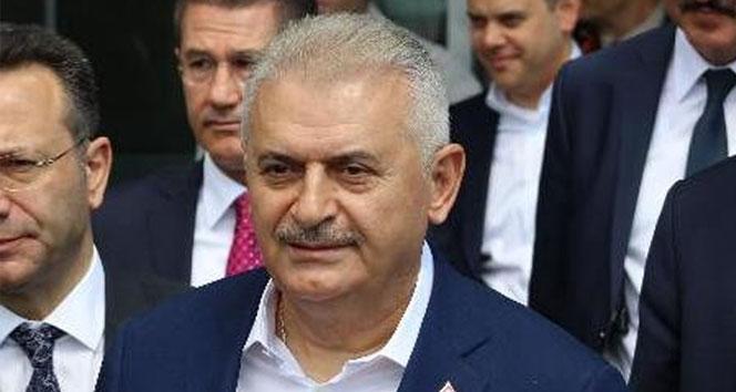 """Başbakan Yıldırım, """"CHP önce FETÖ ilişkisini sorgulasın"""