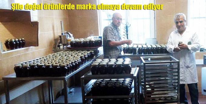 Şile doğal ürünlerde marka olmaya devam ediyor