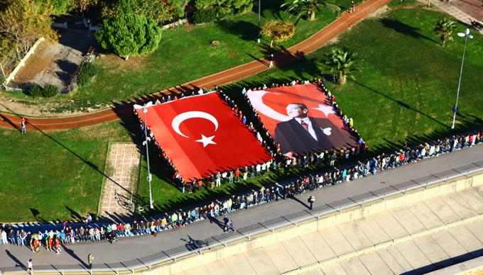 """10 Kasım'da Kadıköy'de """"ATA'ya Saygı Zinciri"""" oluşturulacak"""