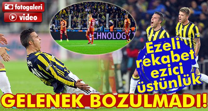Kadıköy'de Fenerbahçe Galatasaray'ı yine eliboş gönderdi