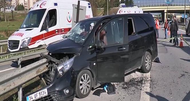 Pendik'teki kazada 1 kişi hayatını kaybederken, 5 kişi de yaralandı
