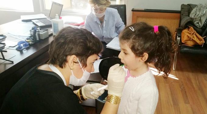 Ahmet Şimşek'te ağız ve diş sağlığı anlatıldı