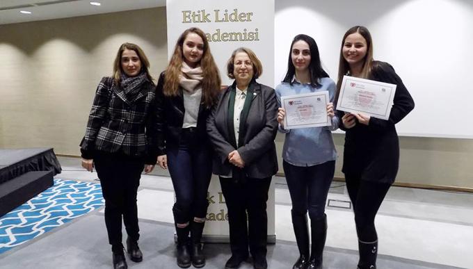 Maltepe Üniversitesinde öğrenciler etik lider olarak yetişiyor!