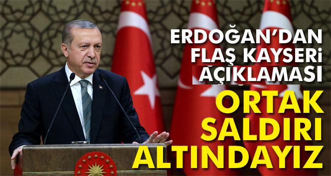 Erdoğan, Türkiye, terör örgütlerinin ortak saldırısı altındadır