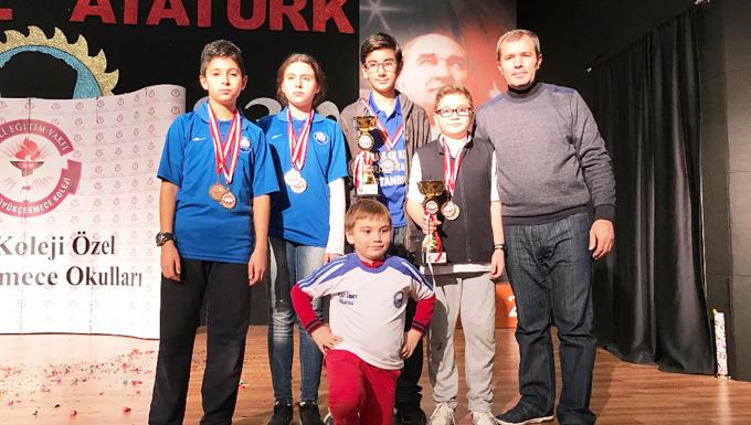 Balkanlar koleji satranç şampiyonu