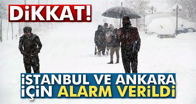 İstanbul ve Ankara'ya kar geliyor… Kar ne zaman yağacak?