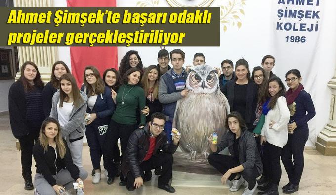 Ahmet Şimşek'te başarı odaklı projeler gerçekleştiriliyor