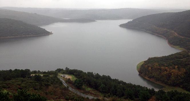 İstanbul'a su sağlayan barajların doluluk oranı yüzde 60'ı buldu