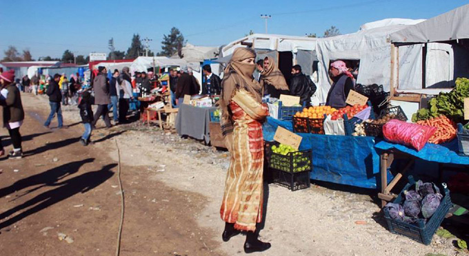 Film için Suriye pazarı kuruldu