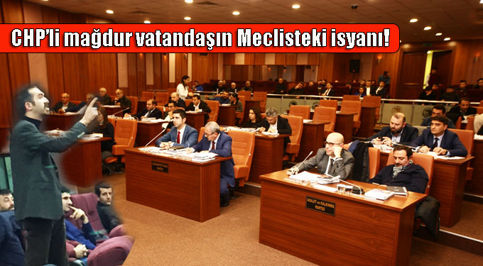 CHP'li mağdur vatandaşın Meclisteki isyanı!