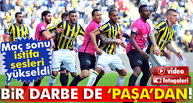Kanarya evinde kayıp, Fenerbahçe 0-0 Kasımpaşa