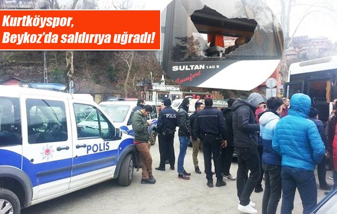 Kurtköyspor, Beykoz'da saldırıya uğradı!