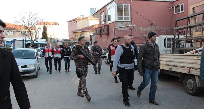 Maltepe, Sancaktepe ve Ataşehir ilçelerinde operasyon