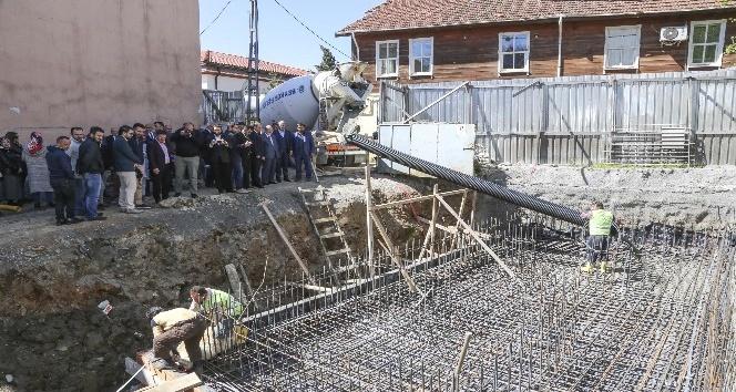Mehmet Akif Ersoy Kültür Merkezinin temeli atıldı