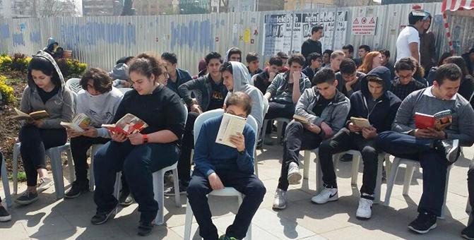 Ahmet Şimşekli öğrenciler okumaya dikkat çektiler