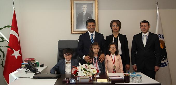 Salih Nafiz Tüzün İlkokul Öğrencileri Kartal Belediyesi'ni Ziyaret Etti