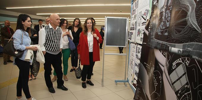 Mimarlık Bölümü Öğrencilerinin Tasarımları Kartal Belediyesi'nde Sergilendi