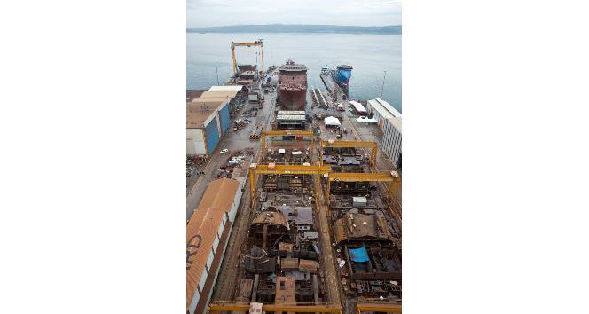 Milli gemiler, Europort Turkey'de 35 ülkenin temsilcileri için vitrine çıktı