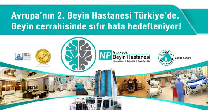 Avrupa'nın 2. Beyin Hastanesi Türkiye'de!