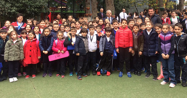 Balkanlar Koleji İlkokul Sporcuları başarıya doymuyor