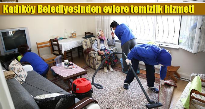 Kadıköy Belediyesinden evlere temizlik hizmeti