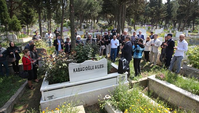 Hüseyin Kabacıoğlu Gülsuyu'ndaki Mezarı Başında Anıldı