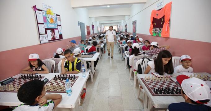 Nihat Erim İlkokulu 3. Satranç Turnuvası gerçekleşti