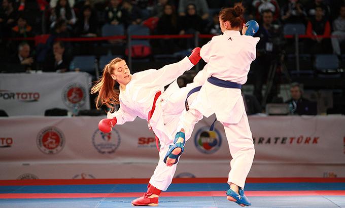 Karateciler hedefi yüksek tutuyor