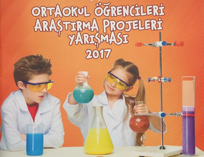 Ahmet Şimşekli öğrencinin projesi TÜBİTAK dergisinde yayınlandı
