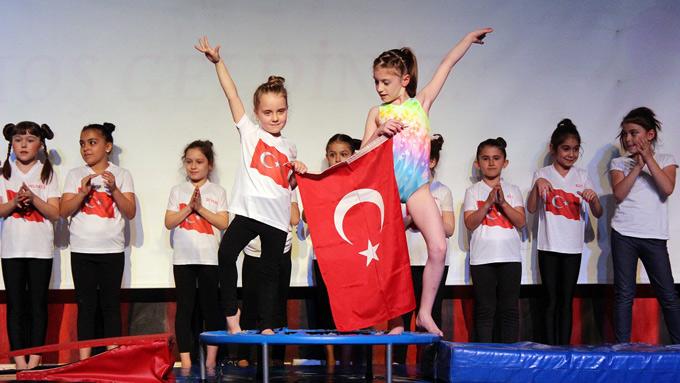 Ahmet Şimşek'te yetenekler sergilendi.