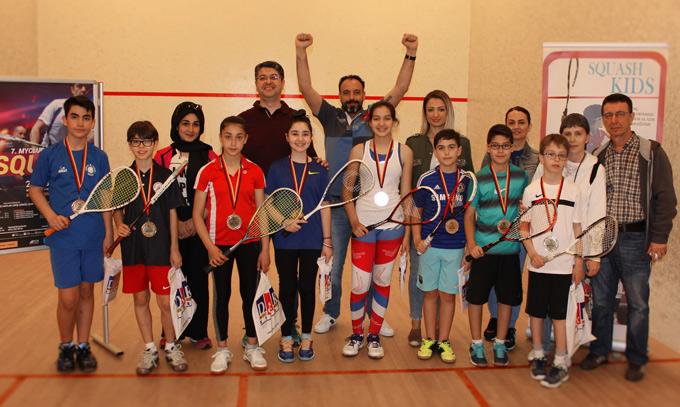 MyClub Squash Turnuvasının 7. si Ataşehir'de yapıldı