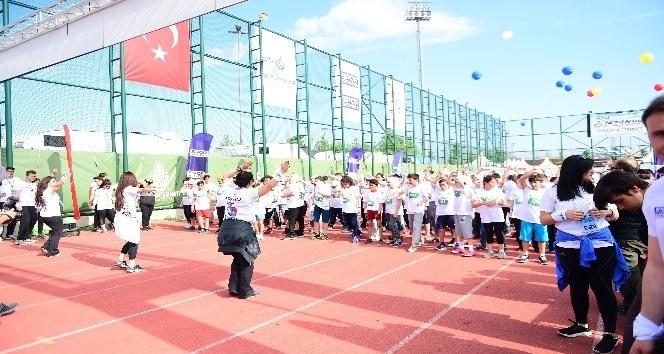İstanbul Çocuk Maraton'u Maltepe'de yapıldı