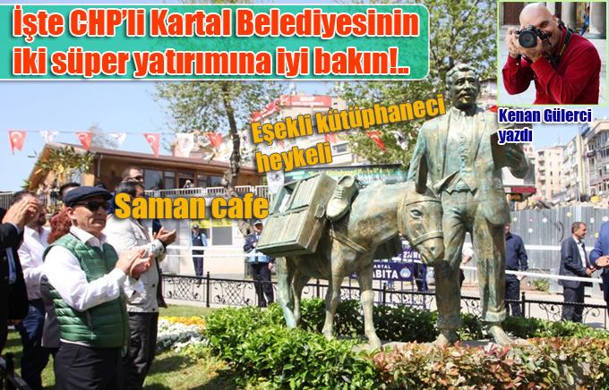 İşte CHP'li Kartal Belediyesinin iki süper yatırımı bu fotoğraf karesinde!