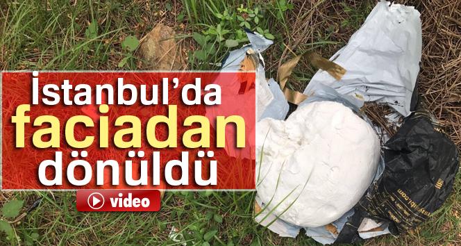 Kartal'da ormanlık alanda 10 kilo A-4 patlayıcı bulundu