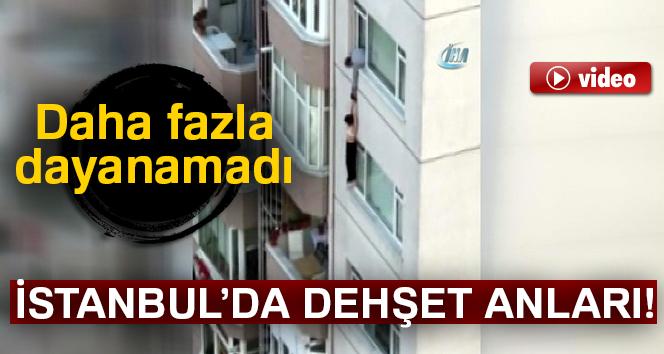 İstanbul'da intihara kalkışan kadın 8'inci kattan yere çakıldı