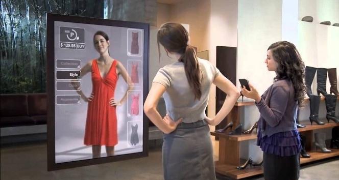 Türkiye'deki mağazaların yeni trendi, 3D dijital aynalar