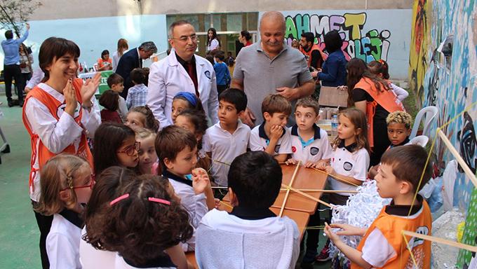 Ahmet Şimşek Koleji 3. Sınıf öğrencilerinden ilginç bir etkinlik