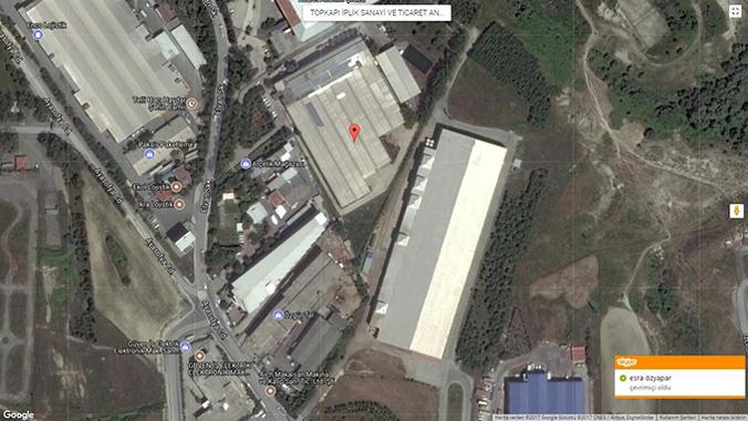 İstanbul Arnavutköy'de satılık tekstil fabrikası