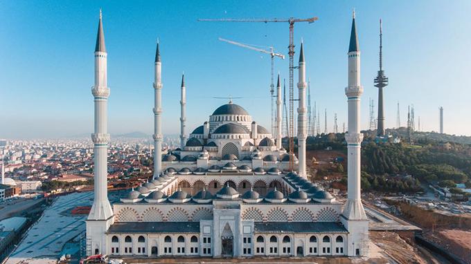 'Asrın Mührü' Çamlıca Camii Ramazan ayında açılıyor