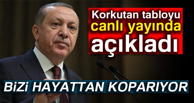 """Cumhurbaşkanı Erdoğan: """"Teknoloji bizi hayattan koparıyor"""""""