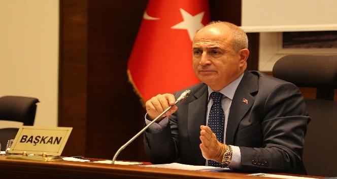 Başkan Hasan Akgün'e takdir ve şükran plaketi verildi