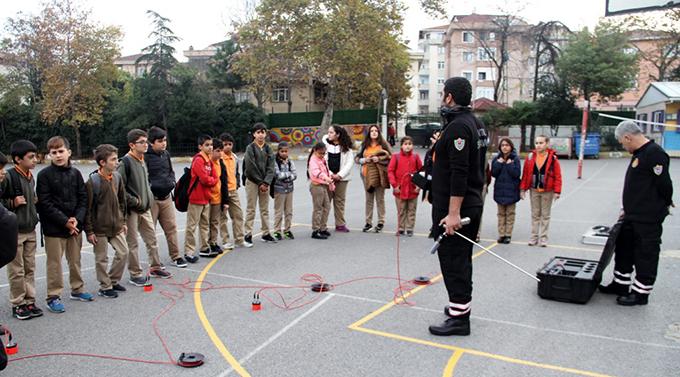 Öğrencilere 'Temel Afet Bilinci' eğitimi verildi