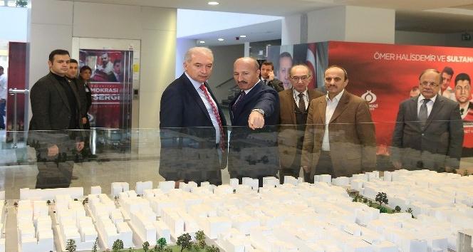 İBB Başkanı Uysal'dan Başkan Cahit Altunay'a ziyaret