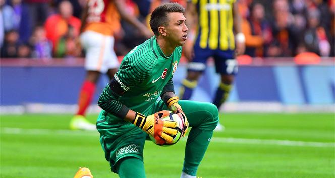 Galatasaray'ın file bekçisi Fernando Muslera, takıma alınmadı