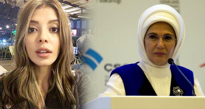 Ünlü oyuncu, Emine Erdoğan hakkında sosyal medyada,özür mesajı yayınladı