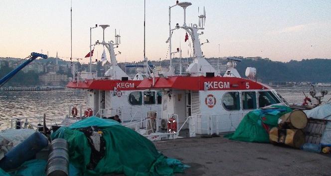 Şile'de batan geminin mürettebatını arama çalışmaları devam ediyor