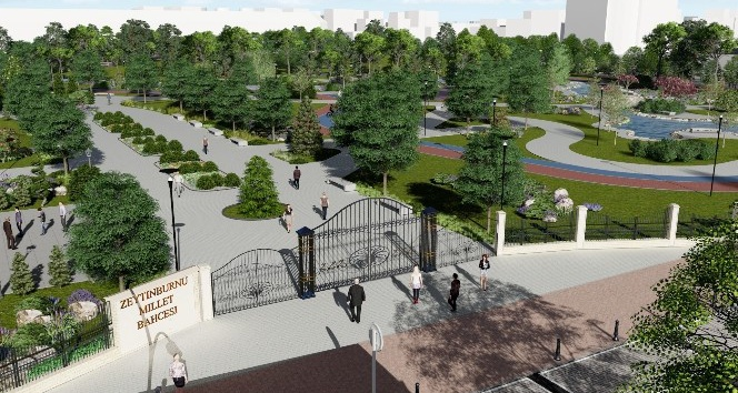Millet Bahçesi'ne 15 Temmuz şehitlerine özel anıt köşesi yapılacak