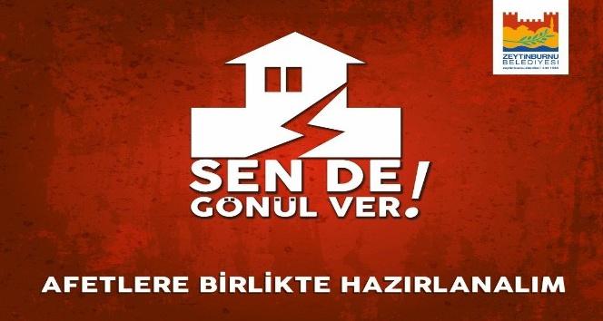 Zeytinburnu Belediyesi'nden, beklenen Marmara depremi öncesi tatbikat